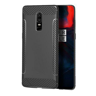 Case for OnePlus 6 Fiber Wing TPU High Quality Cover