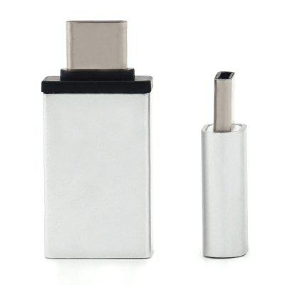 Typ C zu USB OTG Adapter + Typ C zu Micro USB Adapter