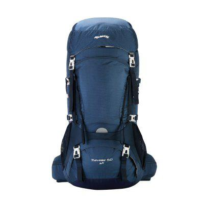 Kimlee Camping Backpack for Hiking Climbing Skiing with Rain Cover 50L