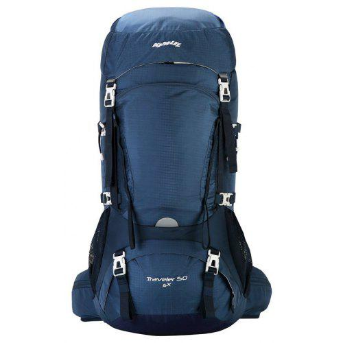 151d32ae71ee Kimlee Camping Backpack for Hiking Climbing Skiing with Rain Cover 50L