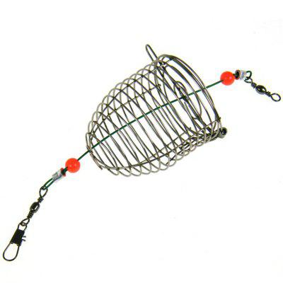 Stainless Steel Wire Lure Small Bait Cage Fishing