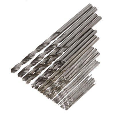 25pcs Micro High Speed Steel Straight Shank Electrical Drill Bit Set