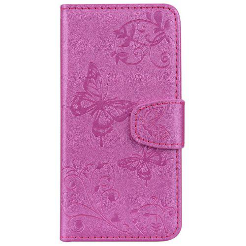 Mirror Case for Samsung Galaxy J5 2017 /J530 Phone Butterfly Glossy Wallet Leath