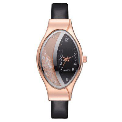 V5 Woman Fine Strap Luxury Brand Bracelet Quartz Wristwatch