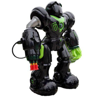 Intelligent Remote Control RC Robot Talking Walking Shooting Light and Music Toy