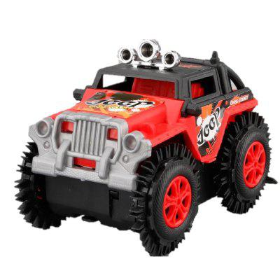 Super Electric Cross-country Track Tipping Jeep Auto voor kinderen