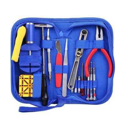 Watch Tools Set 17PCS Clock Repair Kit Watchmaker Parts
