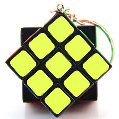 Puzzle Mini Finger Magic Cube Key Ring
