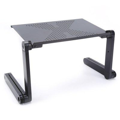 Foldable Adjustable Laptop Bed Table Stand Computer Notebook Desk