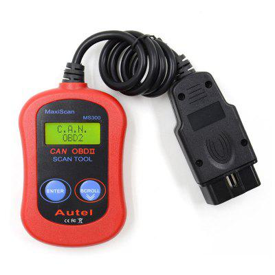 For  Maxiscan MS300 Scanner Diagnostic Tool OBDII Vehicles CAN OBD2
