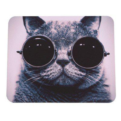 Tapis de souris Hot Cat Picture Anti-Slip Laptop PC Mice