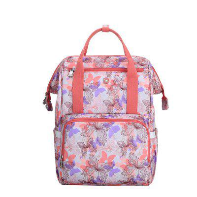 Oiwas Mommy Backpack Large Capacity Waterproof Diaper Nappy Bag Handbag