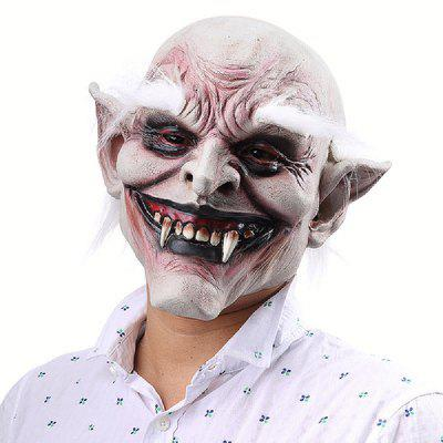 YEDUO White-browed Old Demon Halloween Horror Devil Mask Vampire Haunted House