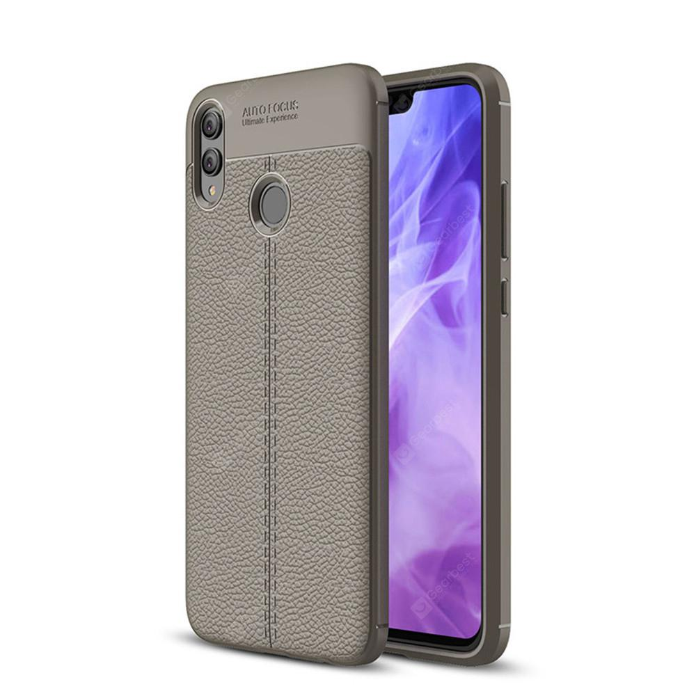 Case for Huawei Honor 8X Shockproof Back Cover Solid Color Soft TPU