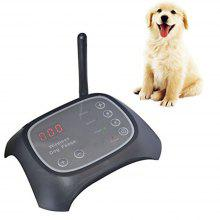 Wireless Dog Fence Rechargeable Adjustable Radio Frequency Electric Pet Trainer