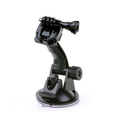 Sports Camera Powerful Car Suction Cup Quick Release With Mounting Base Screw