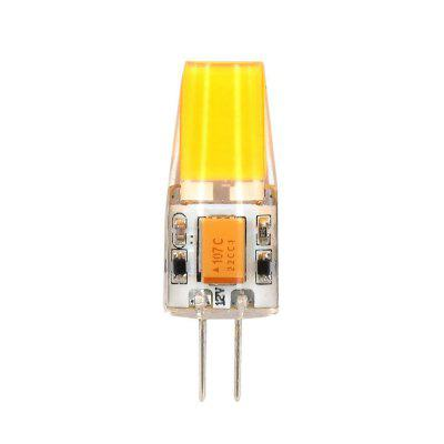 3 Watt COB G4 LED Corn Bulb Bi-Pin Base AC / DC12V bianco caldo 3000K
