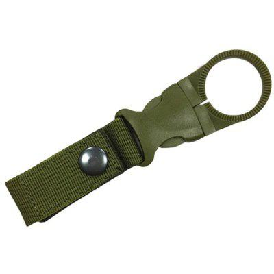Outdoor Military Nylon Webbing Buckle Hook Water Bottle Holder Clip
