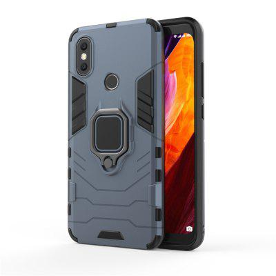 Custodia Cover per Xiaomi Mi 6X Ring Slim Robot Armor Rubber Fundas Phone