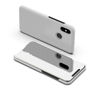 Millet Phone Shell for Xiaomi Mi8 Plating Mirror Flip Phone Case View Smart Cover
