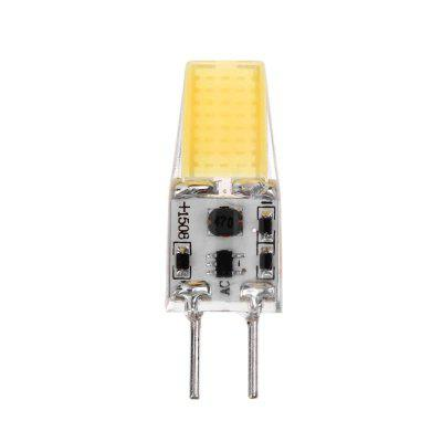 GY6.35 AC 12V 3W Silicone 1508COB LED Corn Bulb Lamp for Chandelier