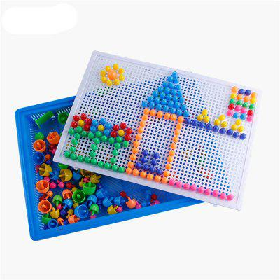 296PCS Kit chiodo fungo Puzzle Toy