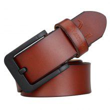 72% OFF COWATHER New Jeans High Quality Leather Fashion Strap Black Buckle Belts