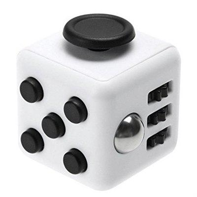 Fidget Dice Toy 6 Sides Release Stress Anxiety and Relax Magic Cube