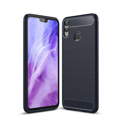 Case for Huawei Honor 8X Luxury Carbon Fiber TPU Soft Cover