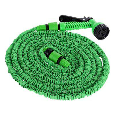 Water Gun Expandable Flexible Garden Hoses Pipe Car Cleaning Washer 50ft
