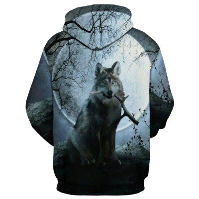 Dog Long Wolf Printed Printed 3d 3d Wolf Dog Uw050qFxaB