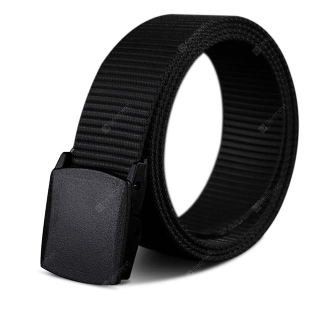 COWATHER New Nylon Material Long Big Size Military Outdoor Male Jeans Belts