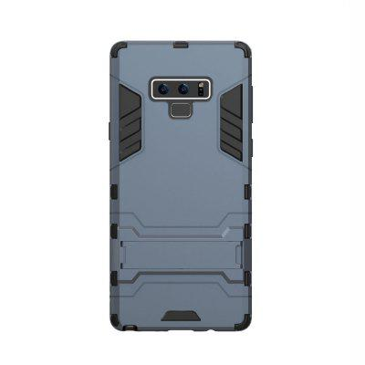 Case for Samsung Note 9 with Stand Back Cover Solid Colored Hard PC Material