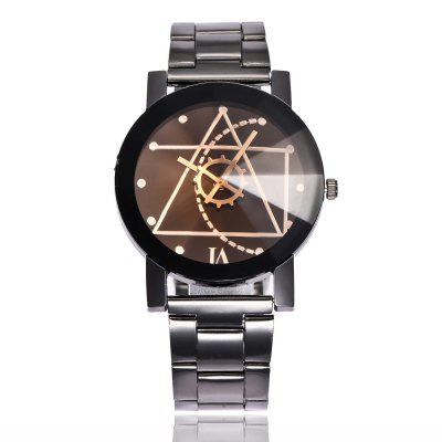 New Fashion Male and Female Creative Gear Business Quartz Watch
