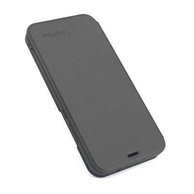 Hoes voor OPPO A83 Brushed Texture Voltage Type Cover