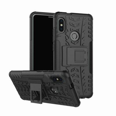 Protective Phone Case with Holder for Redmi Note 5 Pro