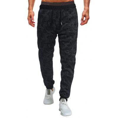 Men's Fashion Camouflage Trend Beamed Wild Casual Pants