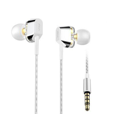 Dual-Driver Unit Heavy Bass Earphone HiFi Stereo Sport Running