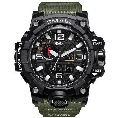 SMAEL Heren Outdoor Waterproof Horloges Sport