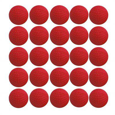 25pcs Bulk Foam Bullet Ball Replacement Refill Pack