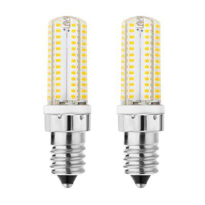 E14 Base 104SMD WW / CW 5W LED-gloeilampen 40W Gloeilampequivalent