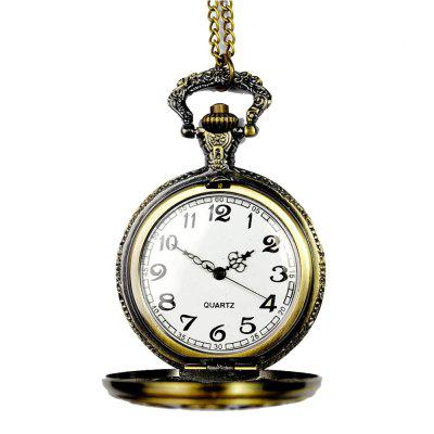 Temporada 3152450 Zodiac Hollow Vintage Pocket Watch