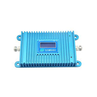 GSM 900MHz Cell Phone 2G Signal Booster GSM980 with Ceiling Yagi Antenna