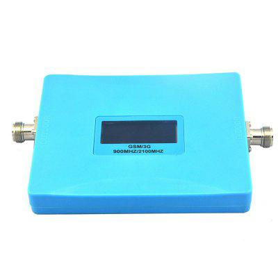 Smart Mobile Phone 2G 3G Signal Booster 900MHz 2100MHz Repeater with Antenna