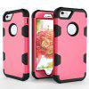 For iPhone 7 5.5 Shockproof Full-body Protective Hard Phone Case - ROSE RED