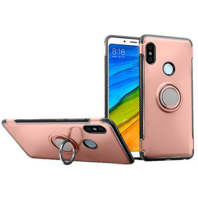 Cover Case for Redmi Note 5 Pro Hybrid Car Magnetic Holder Shockproof TPU PC