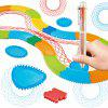Creative Art Track Pictură Ruler Set Jucarii Educational Toy - MULTI-A