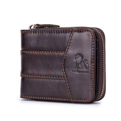 New Fashion Design Men High Quality Leather Wallet