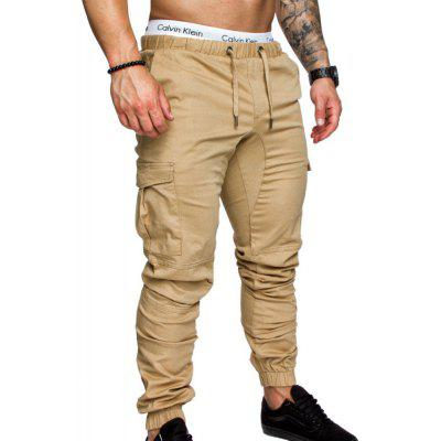 Heren tooling multi-pocket casual broek