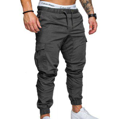 Men's  Tooling Multi-Pocket Casual Pants
